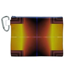 Abstract Painting Canvas Cosmetic Bag (XL)