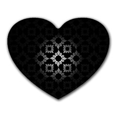 Antique Backdrop Background Baroque Heart Mousepads