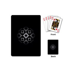 Antique Backdrop Background Baroque Playing Cards (Mini)