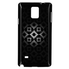 Antique Backdrop Background Baroque Samsung Galaxy Note 4 Case (Black)