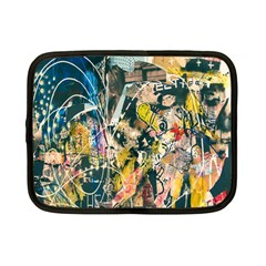 Art Graffiti Abstract Lines Netbook Case (Small)