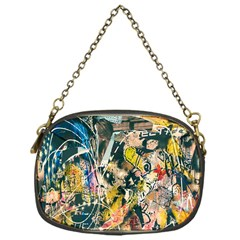 Art Graffiti Abstract Lines Chain Purses (One Side)