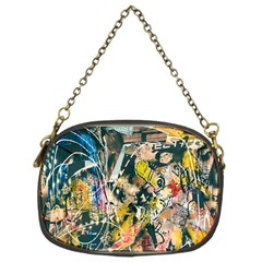 Art Graffiti Abstract Lines Chain Purses (Two Sides)