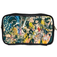 Art Graffiti Abstract Lines Toiletries Bags 2-Side