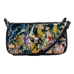 Art Graffiti Abstract Lines Shoulder Clutch Bags