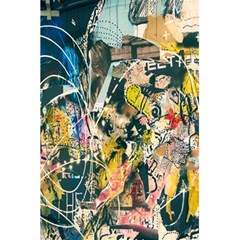Art Graffiti Abstract Lines 5.5  x 8.5  Notebooks