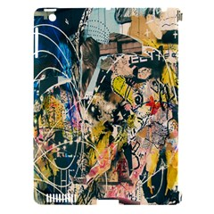 Art Graffiti Abstract Lines Apple iPad 3/4 Hardshell Case (Compatible with Smart Cover)