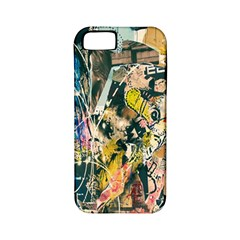 Art Graffiti Abstract Lines Apple iPhone 5 Classic Hardshell Case (PC+Silicone)