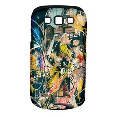 Art Graffiti Abstract Lines Samsung Galaxy S III Classic Hardshell Case (PC+Silicone)