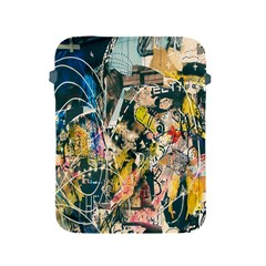 Art Graffiti Abstract Lines Apple iPad 2/3/4 Protective Soft Cases