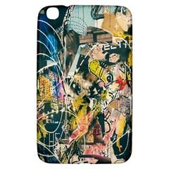 Art Graffiti Abstract Lines Samsung Galaxy Tab 3 (8 ) T3100 Hardshell Case