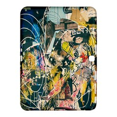 Art Graffiti Abstract Lines Samsung Galaxy Tab 4 (10.1 ) Hardshell Case