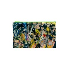 Art Graffiti Abstract Lines Cosmetic Bag (XS)