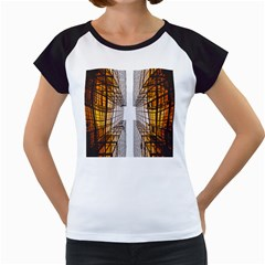 Architecture Facade Buildings Windows Women s Cap Sleeve T