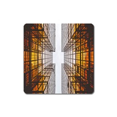 Architecture Facade Buildings Windows Square Magnet