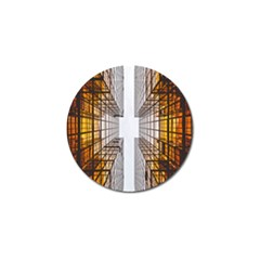Architecture Facade Buildings Windows Golf Ball Marker (10 pack)