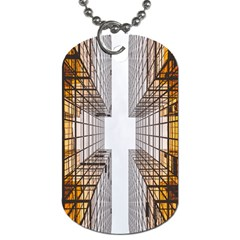 Architecture Facade Buildings Windows Dog Tag (Two Sides)