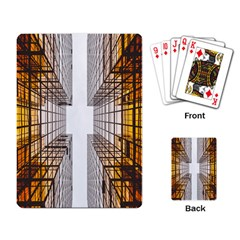 Architecture Facade Buildings Windows Playing Card
