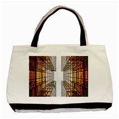 Architecture Facade Buildings Windows Basic Tote Bag