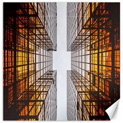 Architecture Facade Buildings Windows Canvas 20  x 20