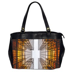 Architecture Facade Buildings Windows Office Handbags (2 Sides)