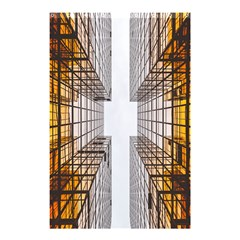 Architecture Facade Buildings Windows Shower Curtain 48  x 72  (Small)