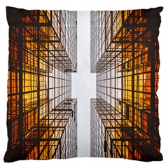 Architecture Facade Buildings Windows Standard Flano Cushion Case (One Side)