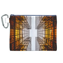 Architecture Facade Buildings Windows Canvas Cosmetic Bag (XL)