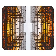 Architecture Facade Buildings Windows Double Sided Flano Blanket (Small)