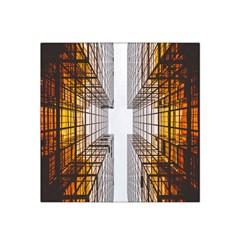 Architecture Facade Buildings Windows Satin Bandana Scarf