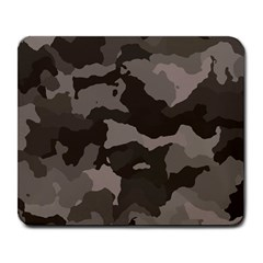 Background For Scrapbooking Or Other Camouflage Patterns Beige And Brown Large Mousepads