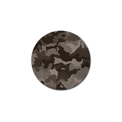 Background For Scrapbooking Or Other Camouflage Patterns Beige And Brown Golf Ball Marker (10 pack)