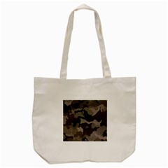 Background For Scrapbooking Or Other Camouflage Patterns Beige And Brown Tote Bag (cream)