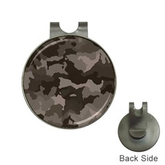 Background For Scrapbooking Or Other Camouflage Patterns Beige And Brown Hat Clips With Golf Markers