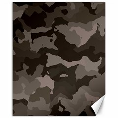 Background For Scrapbooking Or Other Camouflage Patterns Beige And Brown Canvas 16  x 20