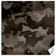 Background For Scrapbooking Or Other Camouflage Patterns Beige And Brown Canvas 20  x 20