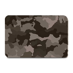 Background For Scrapbooking Or Other Camouflage Patterns Beige And Brown Plate Mats