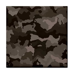 Background For Scrapbooking Or Other Camouflage Patterns Beige And Brown Face Towel