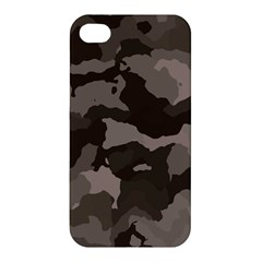 Background For Scrapbooking Or Other Camouflage Patterns Beige And Brown Apple iPhone 4/4S Hardshell Case