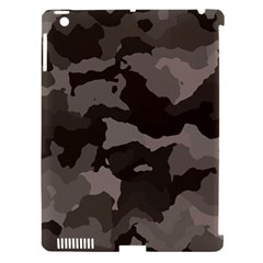 Background For Scrapbooking Or Other Camouflage Patterns Beige And Brown Apple iPad 3/4 Hardshell Case (Compatible with Smart Cover)