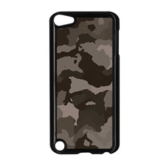 Background For Scrapbooking Or Other Camouflage Patterns Beige And Brown Apple iPod Touch 5 Case (Black)
