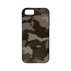 Background For Scrapbooking Or Other Camouflage Patterns Beige And Brown Apple iPhone 5 Classic Hardshell Case (PC+Silicone)