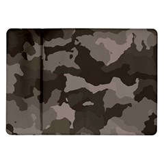Background For Scrapbooking Or Other Camouflage Patterns Beige And Brown Samsung Galaxy Tab 10 1  P7500 Flip Case