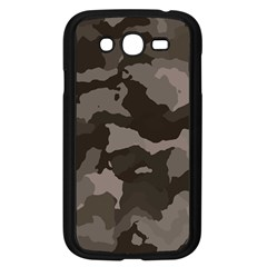 Background For Scrapbooking Or Other Camouflage Patterns Beige And Brown Samsung Galaxy Grand DUOS I9082 Case (Black)