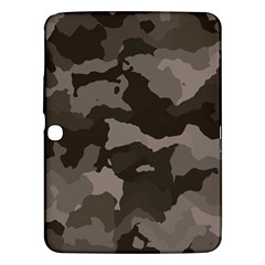 Background For Scrapbooking Or Other Camouflage Patterns Beige And Brown Samsung Galaxy Tab 3 (10.1 ) P5200 Hardshell Case