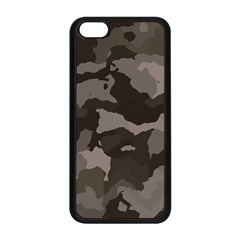 Background For Scrapbooking Or Other Camouflage Patterns Beige And Brown Apple iPhone 5C Seamless Case (Black)