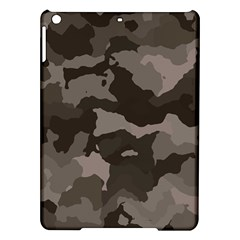 Background For Scrapbooking Or Other Camouflage Patterns Beige And Brown iPad Air Hardshell Cases