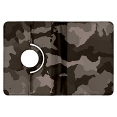 Background For Scrapbooking Or Other Camouflage Patterns Beige And Brown Kindle Fire Hdx Flip 360 Case