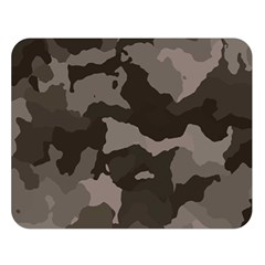 Background For Scrapbooking Or Other Camouflage Patterns Beige And Brown Double Sided Flano Blanket (Large)