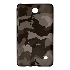 Background For Scrapbooking Or Other Camouflage Patterns Beige And Brown Samsung Galaxy Tab 4 (8 ) Hardshell Case